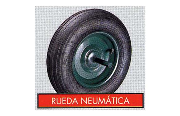 RUEDA CARRETILLA OBRAS 350X8 NEUMATICA