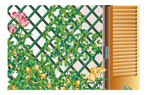 CELOSIA EXTENSIBLE PLASTICO TRELLIFLEX1X2 M BLANCA 3260821701020