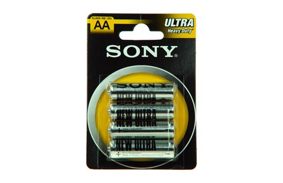 PILA SALINA 1,5 V SONY R-06 BL.4 U
