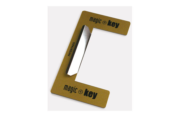 DISPOSITIVO ANTITARJETA PARA CERRADURA MAGIC KEY