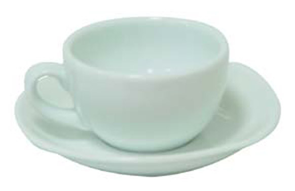 TAZA CAFE PORCEL BLANCA JGO 6U 3692/3593