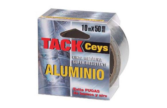 CINTA ALUMINIO TACKCEYS 10 M X 50 MM