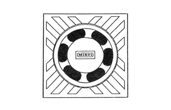 SUMIDERO ALUMINIO MIRVIFER 0-100 MM