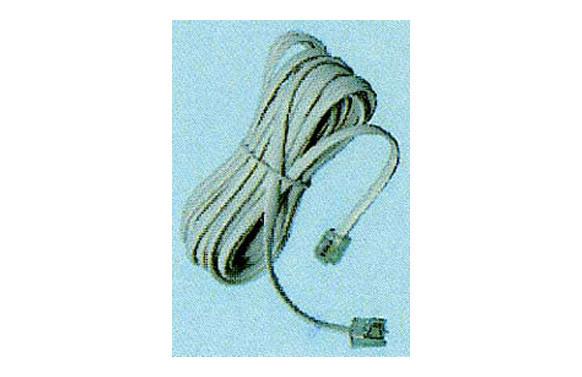 PROLONGACION 4,5M CABLE TELEFONO BLANCO MACHO/MACHO