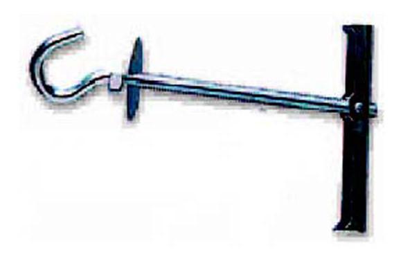 ANCLAJE BASCULANTE TECHO GANCHO M-5