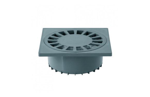 SUMIDERO SIFONICO SALIDA VERTICAL PVC S-246 20X20