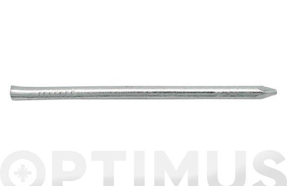 PUNTA HIERRO CABEZA CONICA PULIDO ( 160GR) 2,4X55 MM
