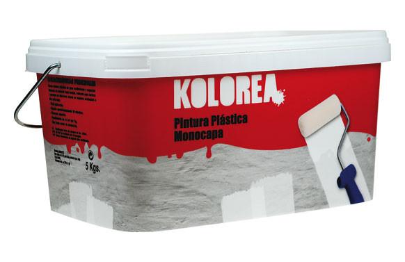 PINTURA PLASTICA MONOCAPA BLANCA INTERIOR 5 KG