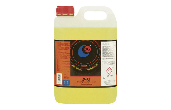 DESENGRASANTE GENERAL BIODEGRADABLE ALCALINO 5 L