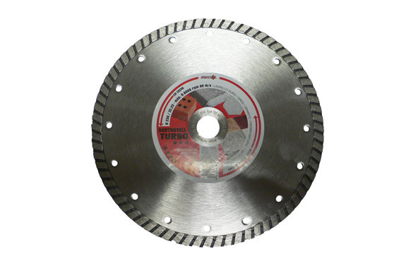 DISCO DIAMANTE STANDARD TURBO GRES 230 MM HARDMETALL