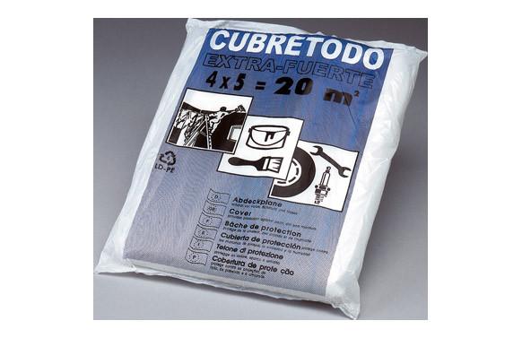 PLASTICO CUBRETODO GRUESO 4 MT X 5 MT 40 MICRAS