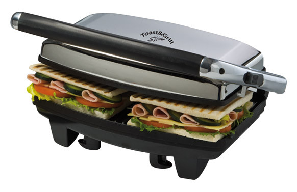 GRILL ELECTRICO SLIM TOAST&GRILL 1000W