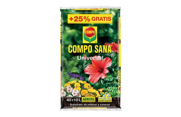 SUBSTRATO UNIVERSAL COMPO SANA 40+10L GRATIS