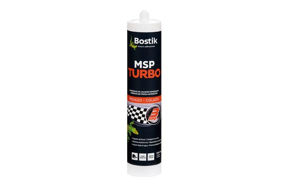 ADHESIVO MONTAJE MS TURBO 290 ML - BLANCO
