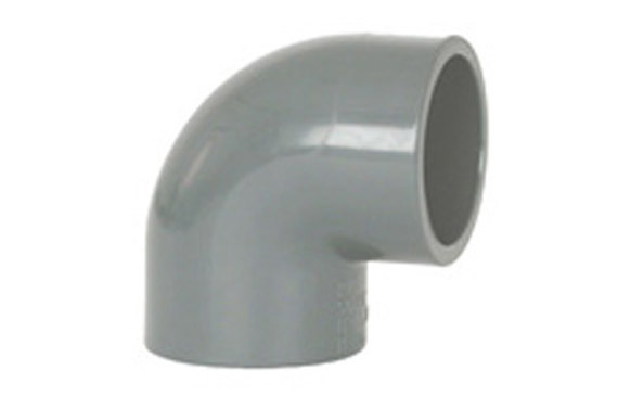 CODO HEMBRA-HEMBRA 90º ENCOLAR PVC PRESION Ø 32