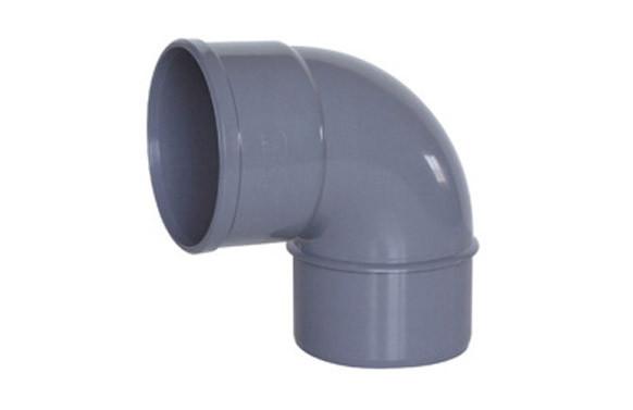 CODO MACHO-HEMBRA 87º PVC EVACUACION CMH-118 Ø 110