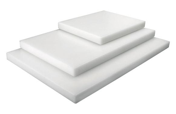TABLA CORTAR 35X26.5X2CM BLANCA