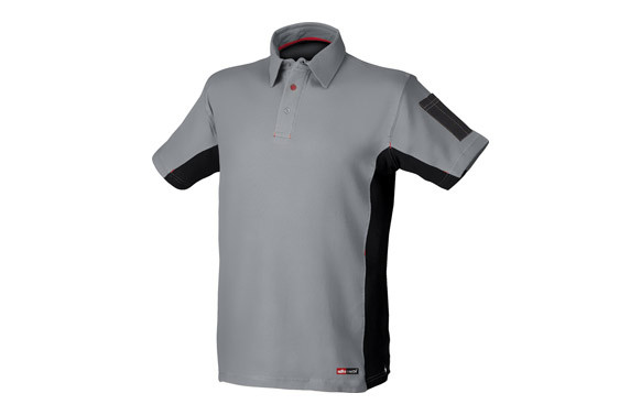 POLO MANGA CORTA STRETCH GRIST-L