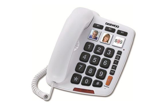 TELEFONO TECLAS GRANDES DIRECTASDT-760