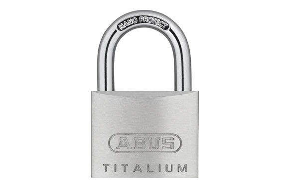 CANDADO TITALIUM 64TI ARCO NORMAL BLISTER 2U 30MM LLAVES IGUALES
