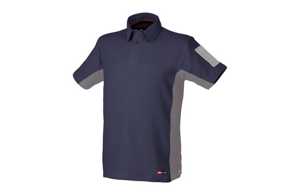 POLO MANGA CORTA STRETCH AZULT-XXL