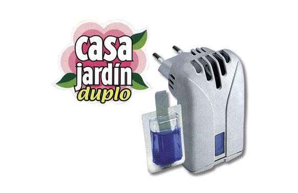 RECAMBIO ANTIMOSQUITOS CASA JARDIN DUPLO 2 CARTUCHOS