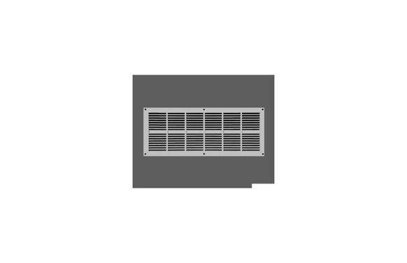 REJILLA PLASTICO INTERIOR 11X25 PB101