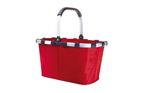 CARRY BAG-BOLSA ASA ALUM. ROJO