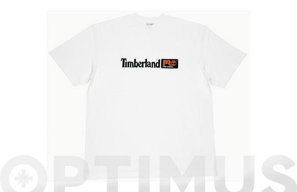 CAMISETA TIMBERLAND PRO 306 BLANCA TALLA XL