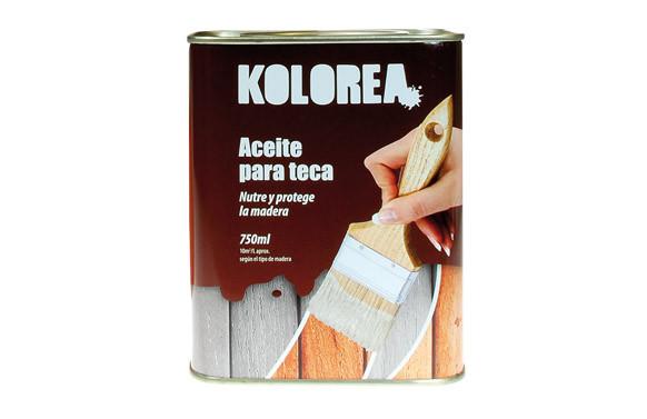ACEITE TECA KOLOREA 750 ML MIEL