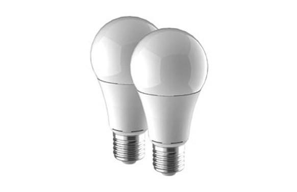 LAMPARA STANDARD LED (2UNIDADES) E-27 900LM LUZ CALIDA (3000K)
