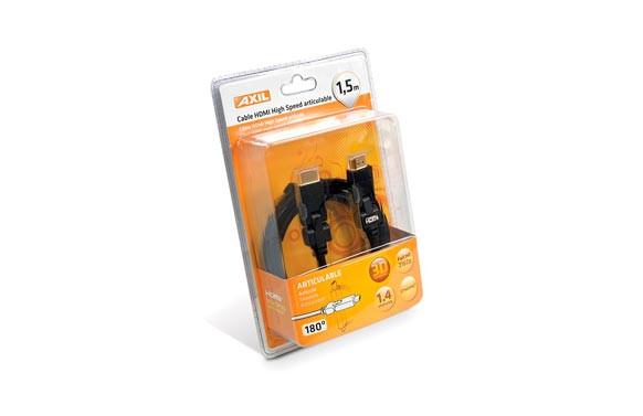 CONEXION HDMI A-A 1,5M CON ROTULA