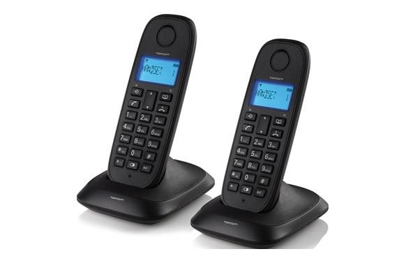 TELEFONO DECT INALAMBRICO DUO-NEGRO