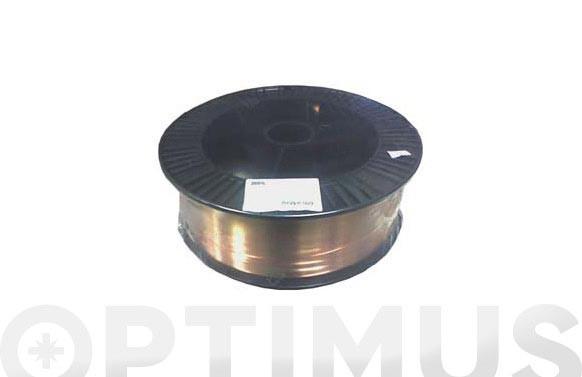 HILO SOLDAR BOBINA 15 KG PLASTICO CAPA-CAPA 1.2 MM