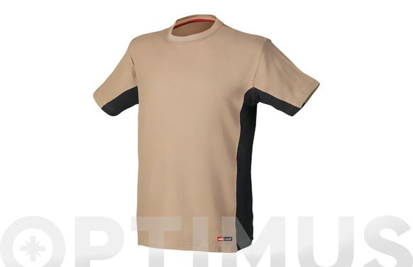 CAMISETA STRETCH BEIGE XXL