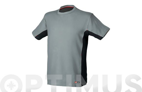 CAMISETA STRETCH GRIS XXL