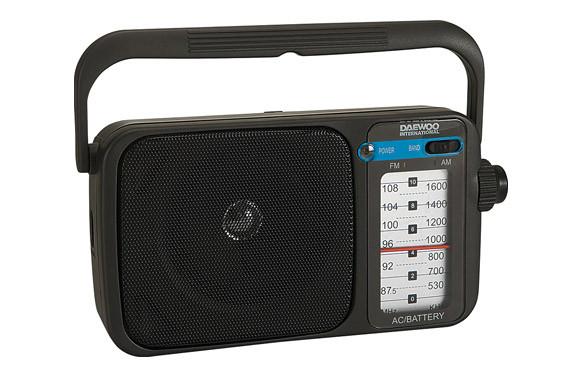 RADIO AM/FM ANALOGICA DRP-123