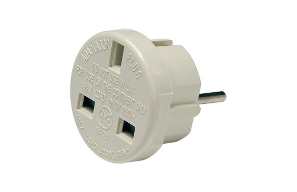 ADAPTADOR EUROPEO INGLES 10A 250V