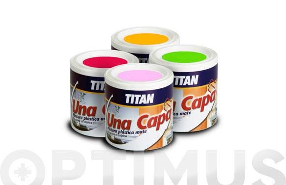PINTURA PLASTICA MATE UNA CAPA AZUL VINTAGE 750 ML