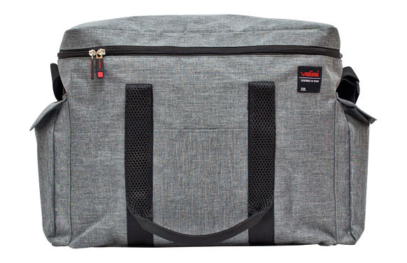 NEVERA FLEXIBLE 22 L GRIS STONE