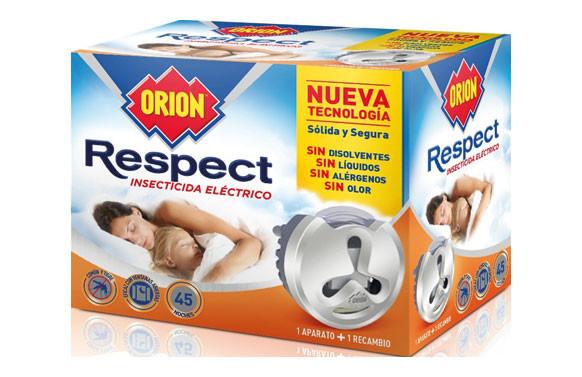 INSECTICIDA ELECTRICO RESPECT 1 APARATO + RECAMBIO 45 NOCHES