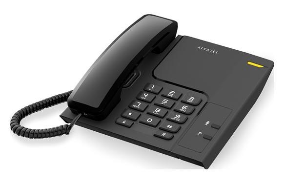 TELEFONO SOBREMESA T26 NEGRO