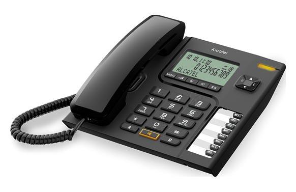TELEFONO SOBREMESA CON DISPLAY T76 NEGRO
