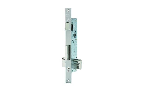 Cerradura de puerta metalica Tesa 2210 - 25 sin escudo ni cerradero