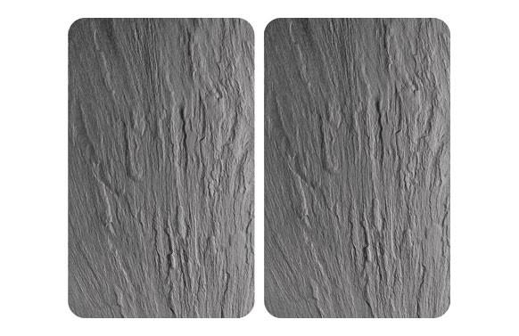 TABLA VIDRIO COCINA (2 UN) PIZARRA-30X52 CM