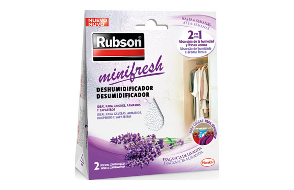 DESHUMIDIFICADOR MINIFRESH LAVANDA