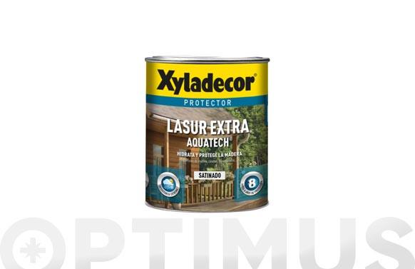 LASUR EXTRA SATINADO AQUATECH 2,5L INCOLORO