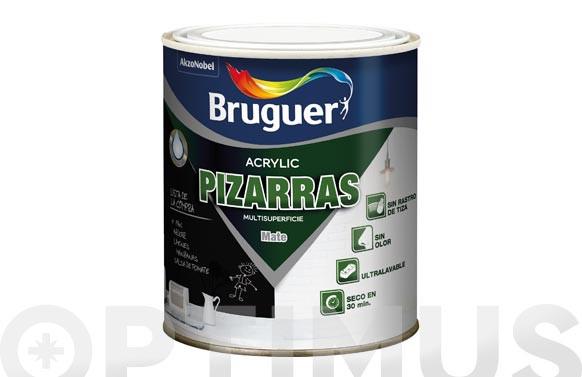 ESMALTE ACRYLIC PIZARRAS 0,75L-NEGRO