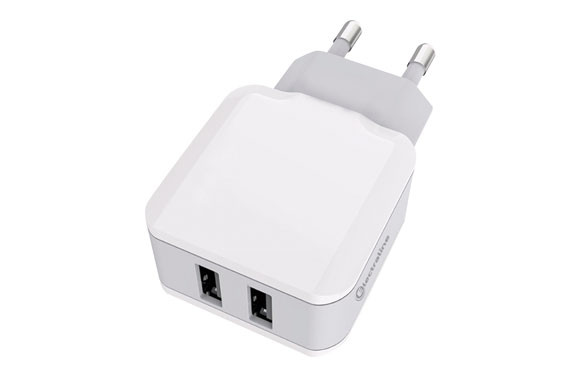 CARGADOR 2 USB CARGA RAPIDA 3,4A
