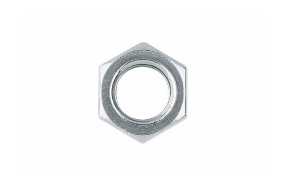 TUERCA METRICA DIN-934 HEXAGONAL ZINCADA 4 MM (40 UNIDADES)